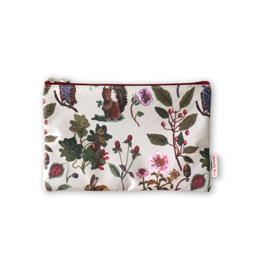 NATHALIE LETE FLAT POUCH FOREST