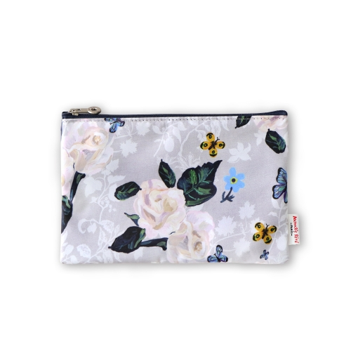 NATHALIE LETE FLAT POUCH ROSES