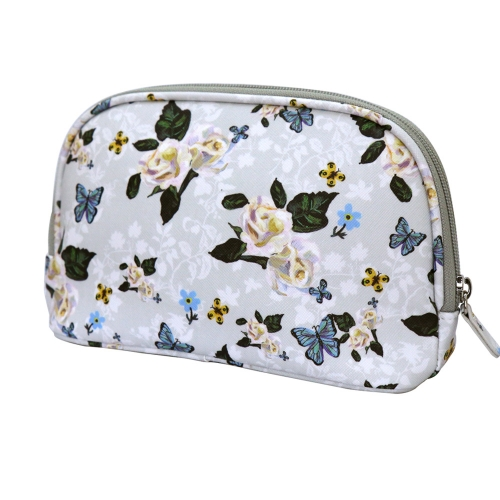 NATHALIE LETE COSMETIC POUCH ROSES