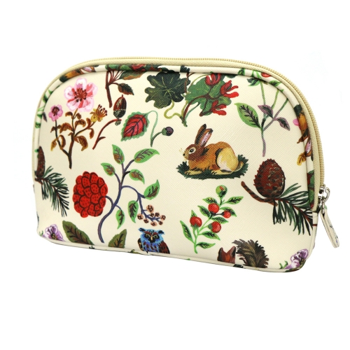NATHALIE LETE COSMETIC POUCH FOREST