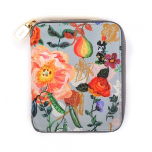 NATHALIE LETE MEDIUM WALLET MICKEY&FLOWER