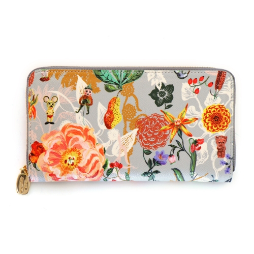 NATHALIE LETE BREAST WALLET MICKEY&FLOWER