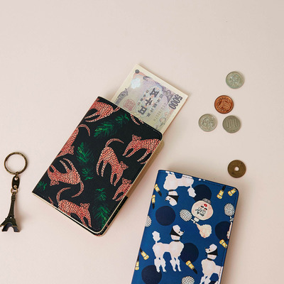 PASSPORT HOLDER- BBH FOREST